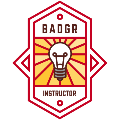 Badgr Instructor Badge